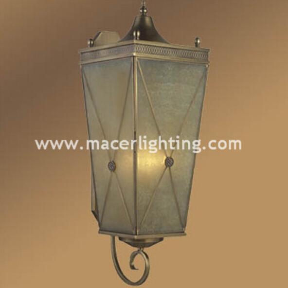 European antique brass wall lights