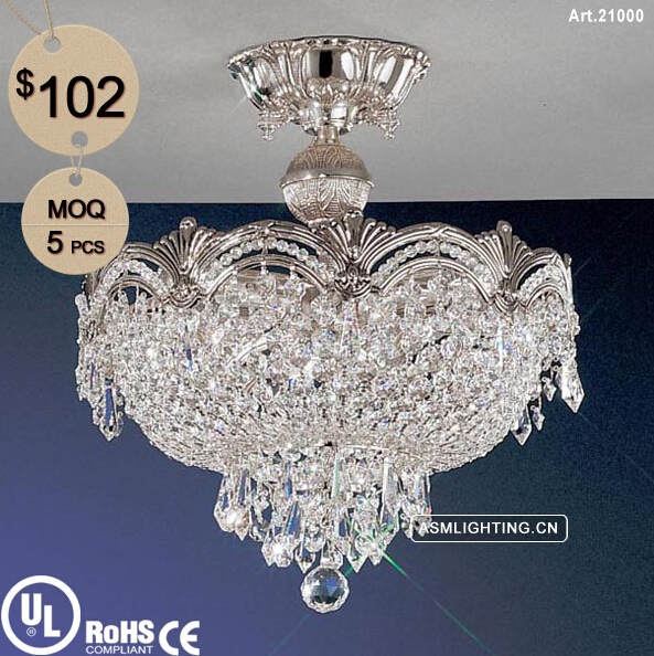 Traditional Style Empire Crystal Chandelier