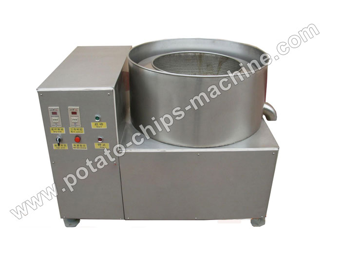 Potato Chips De-oiling Machine