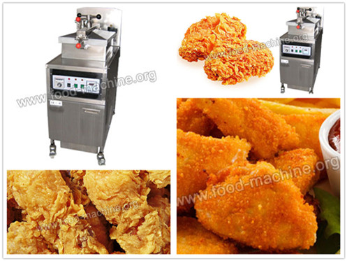 Chicken Pressure Frying Machine