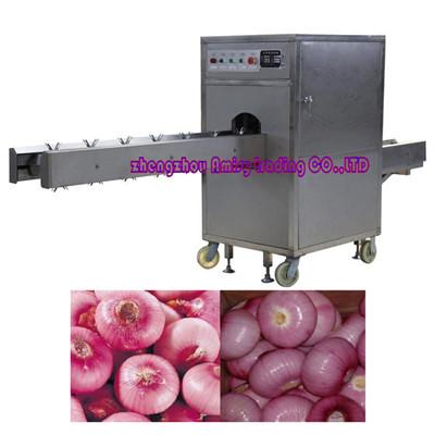 Onion Root & Stem Cutting Machine