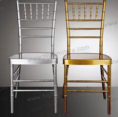Factory Price Clear Tiffany Chivari Wedding Chair
