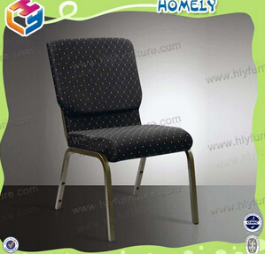 comfortable stacking church chair for sale