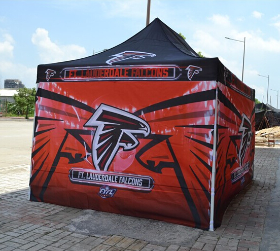 Dye sublimation logo 10x10 Canopies