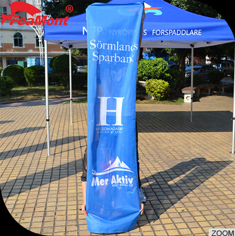 Customized 0.5x2m High Quality UV Printing Pvc Material Advertisement Banner,stand banner