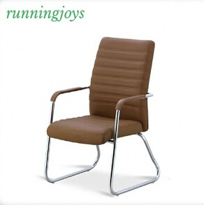 Black Leather Office Dining Chair
