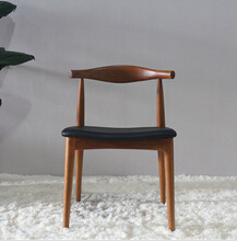 Replica design Hans J Wegner ash wood restaurant chair wood chair