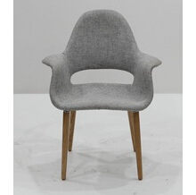 Charles modern living room furniture fiberglass organic chair