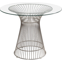 Modern designer platner dining table by warren platner for dining room
