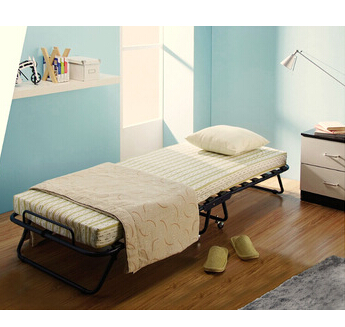 bedroom furniture metal folding bed with mattress 40007P2