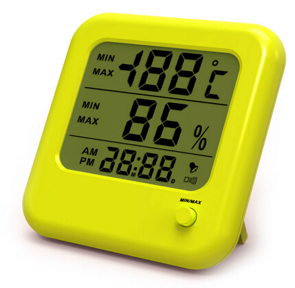 Simple Acrylic Large LCD Thermo Hygrometer XY-PD009