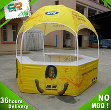 2016 new Custom display marquee advertising dome tent