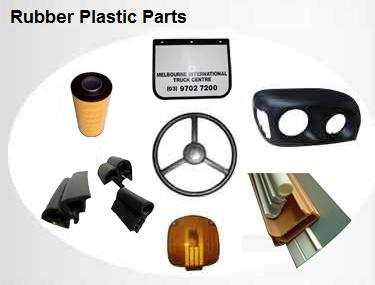 Rubber Plastic Parts for Tractor Truck