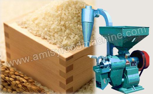 Grains Huller Machine