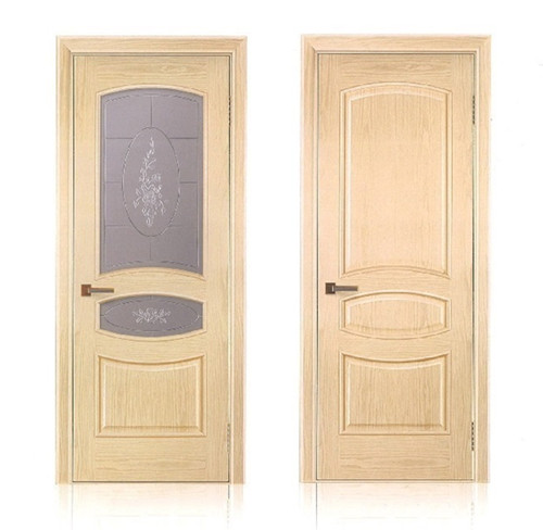 Interior solid wooden doors design