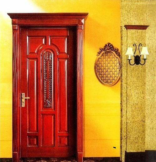 High quality new design wooden  door