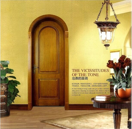 New and enviromental wooden door