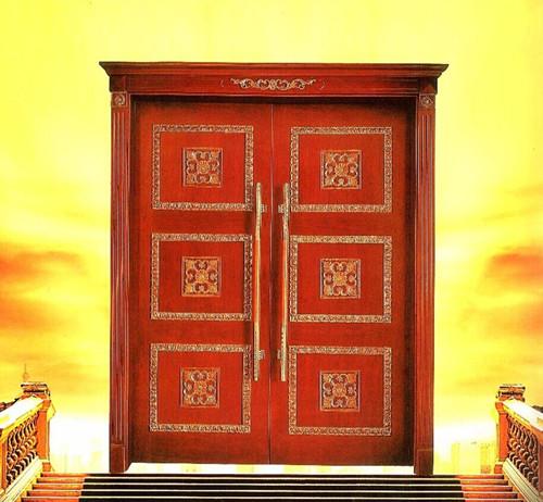 Modern composite wooden doors