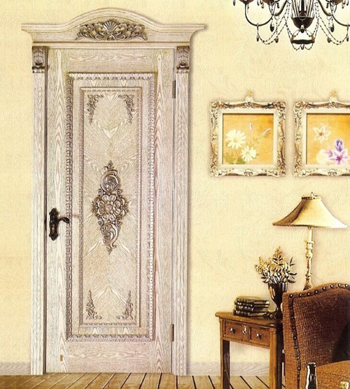 Various composite wooden doors