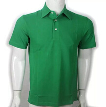 Pique fabric Mens polo golf Shirt