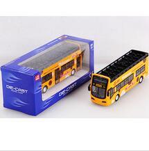1:32 sightseeing bigbus double decker children model diecast car toy supplier
