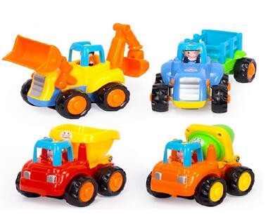 plastic friction mini car toys truck