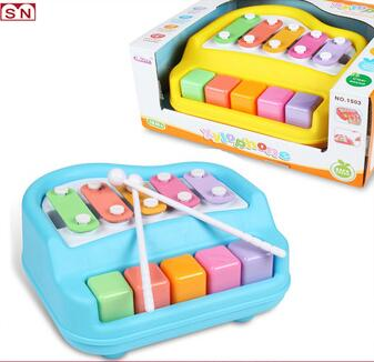 Plastic toy harp musical instruments toys knock harp for wholesale