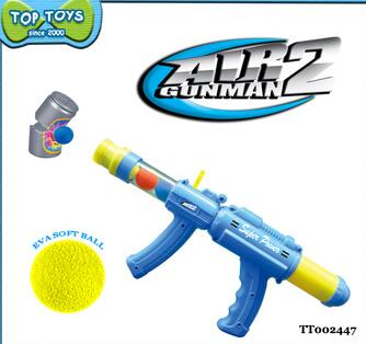 plastic soft bullet gun shot ball soft bullets toy for kid