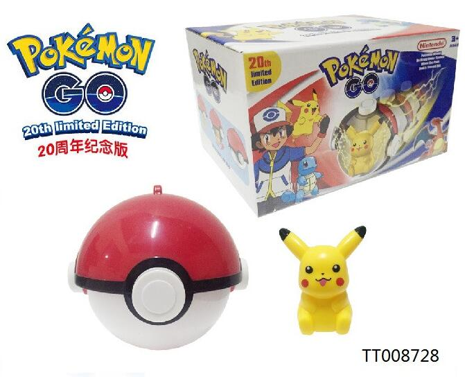 special popular toys functional pokeball with pokemon kid toy pikachu