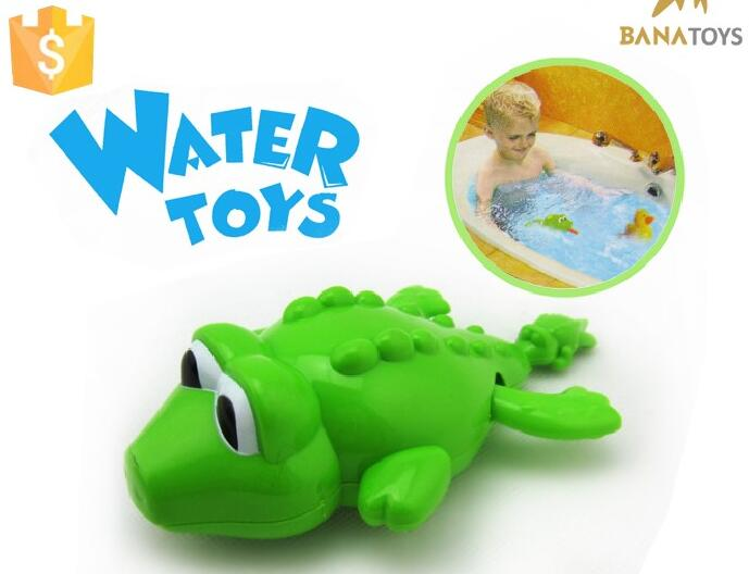Water toy pull animal crocodile