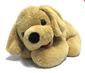 Cute soft plush large toy dog for sale