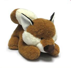 Attractive plush fox toys for amusement par