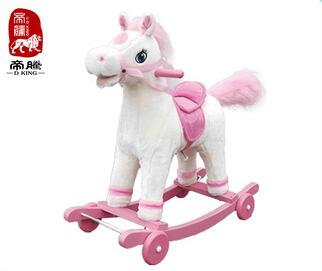 Wholesale toy from china kids toys stables wood cheap rocking horse