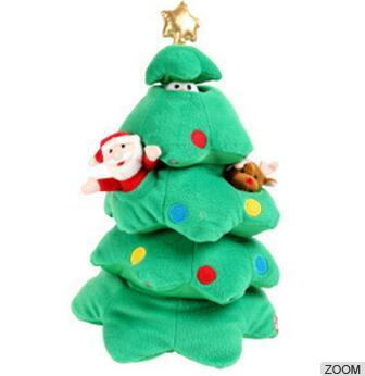 Plush Toy Stuffed Toy Chrismas tree Toy With Gift