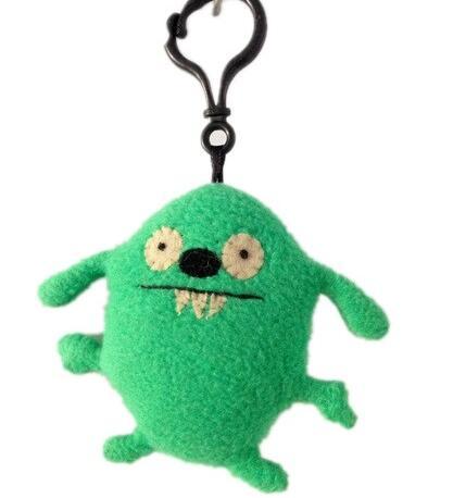 Wholesale cheap promotions soft animal toys plush keychain