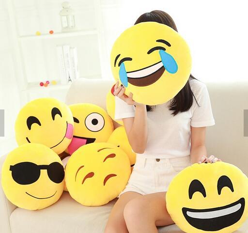 plush emoji pillow pp cotton octopus plush toy