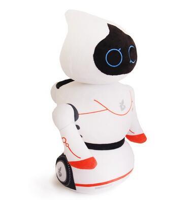Custom made cute plush toy soft stuffed robot plush toy