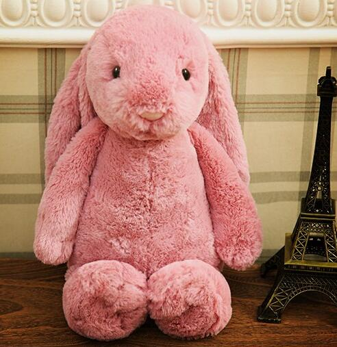 25cm Plush Material bunnyand Rabbit Type stuffed toy soft stuffing knitted toys