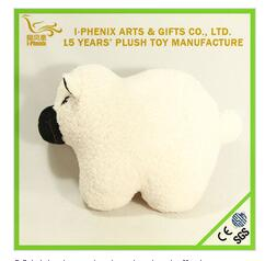 hot products plush stuffed cow shape cushion pillow, soft sofa pillow for gift
