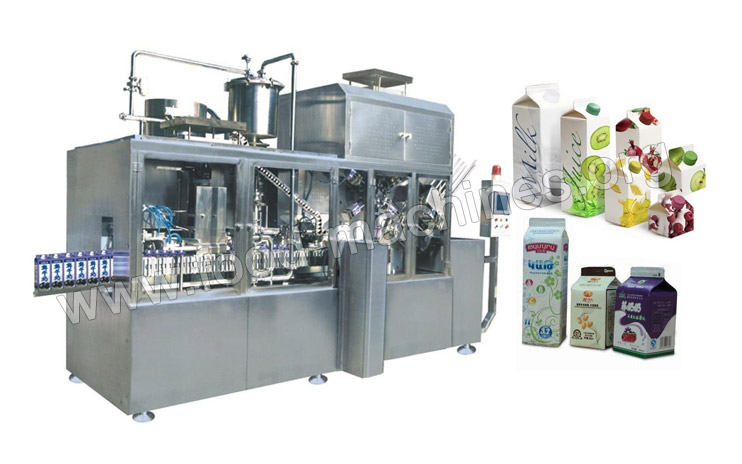 Fruit juice/Milk Filling and Packing Line