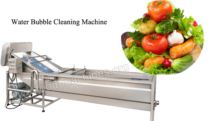 Bubble Cleaning Machine