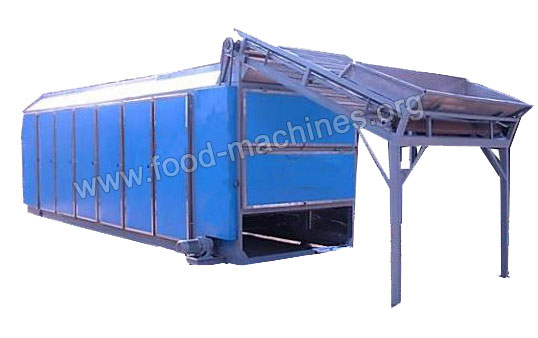 Mesh Belt Food Drying Machine