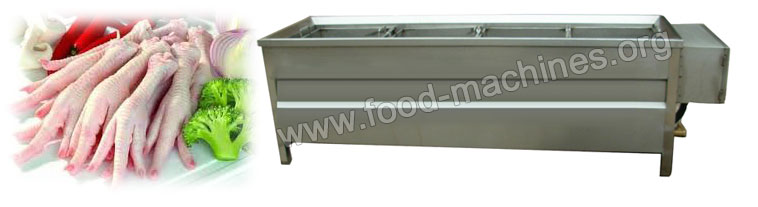Basket Type Food Blanching Machine