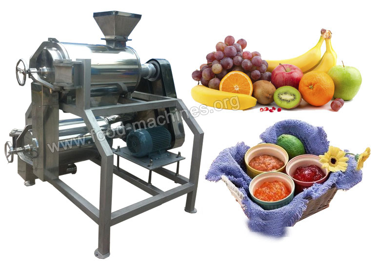 Fruit Coring and Pulping Machine