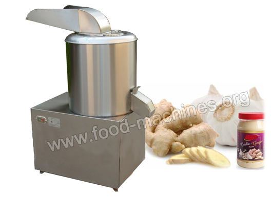 Garlic Mud Cutting Machine