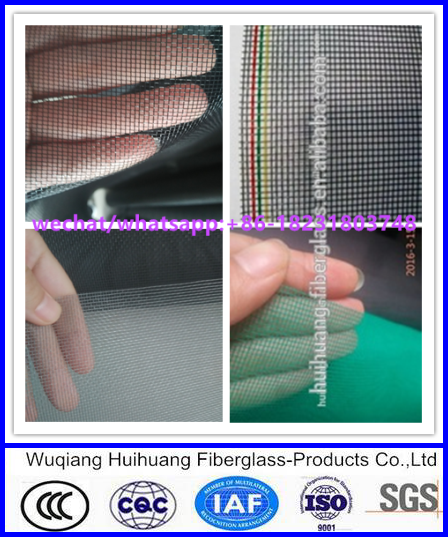 18x16 fiberglass insect screen mosquito nets fiberglass screen mesh for window and door 115g 120g
