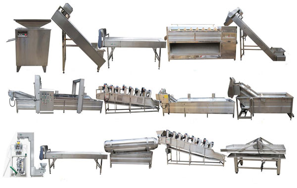 Full-automatic Potato Chips Production Line