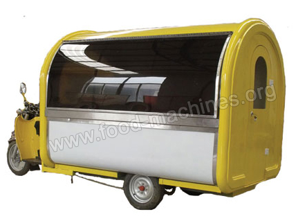 Electric Mobile Food Cart