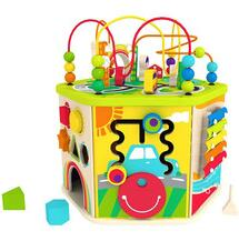 Hot sale baby multifunctional educational wooden toy