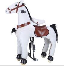 Plush horse ride-on mechanical walking horse